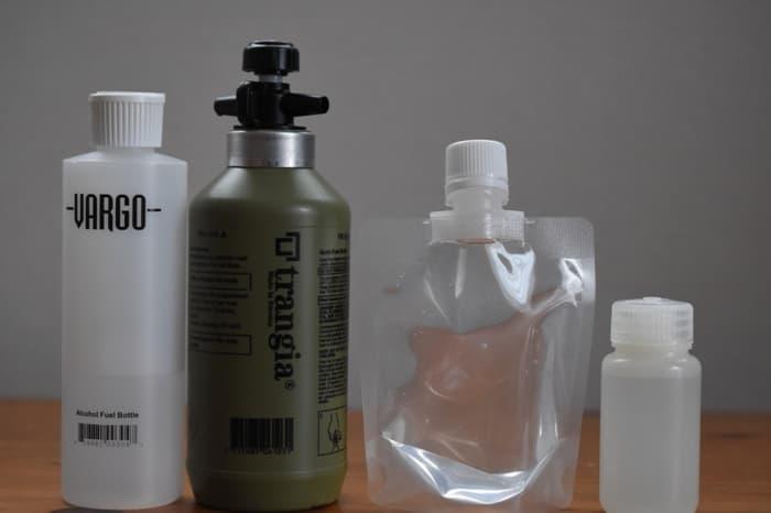 アルコール燃料ボトルを比較
