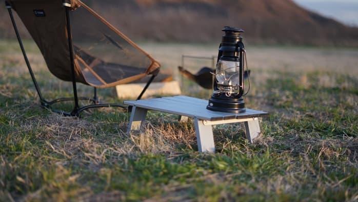 ソロキャンプ 焚火テーブル