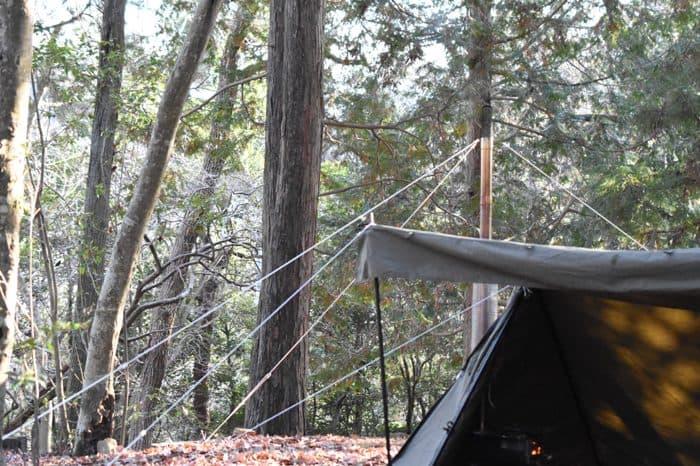 薪ストーブをテント内で使う注意点