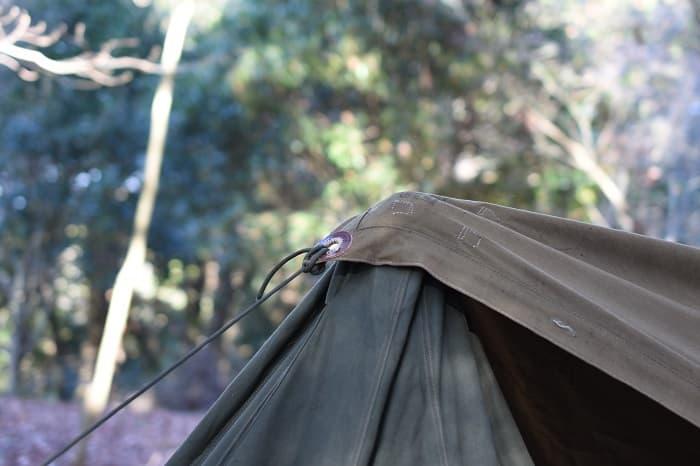 ポンチョテントに連結タープ(プラシパラトカ)