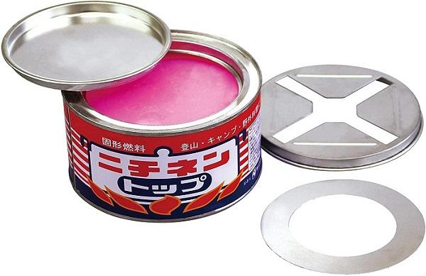 缶タイプの固形燃料