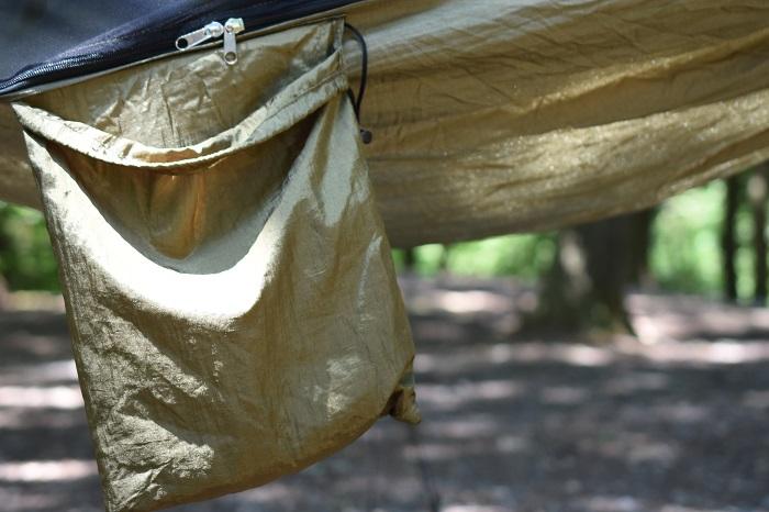 Lenzaiハンモックの収納袋が一体化