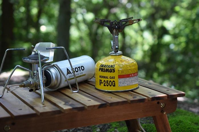 OD缶とCB缶のシングルバーナー