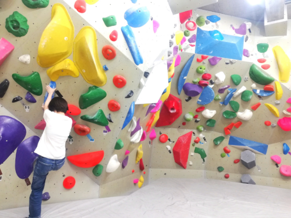 ボルダリングの登り方
