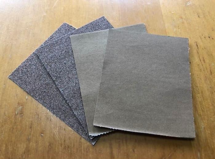メスティンのバリ取りに使う紙やすり