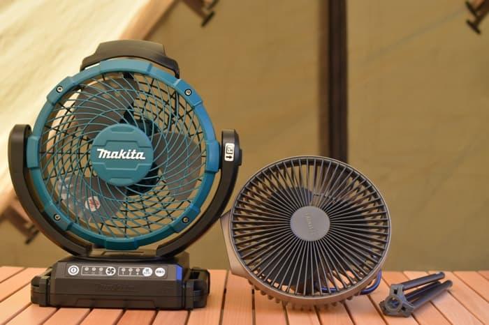 キャンプ扇風機マキタとクレイモア