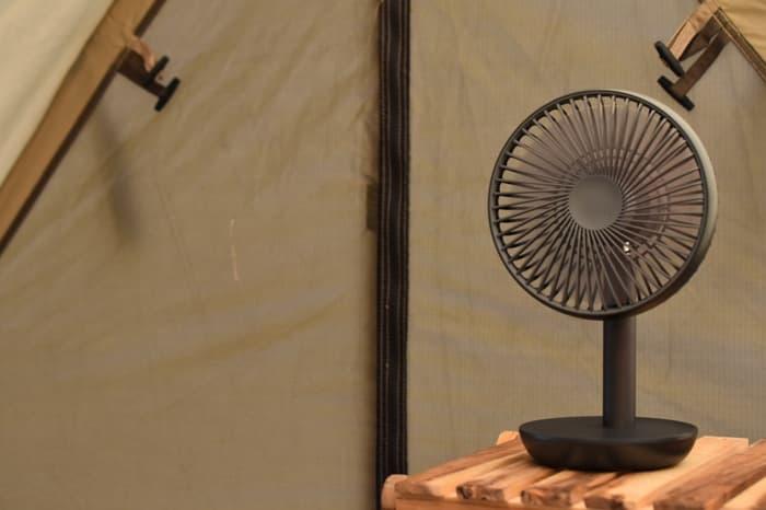 キャンプ扇風機のルーメナー