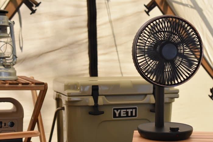 キャンプ用扇風機の特徴