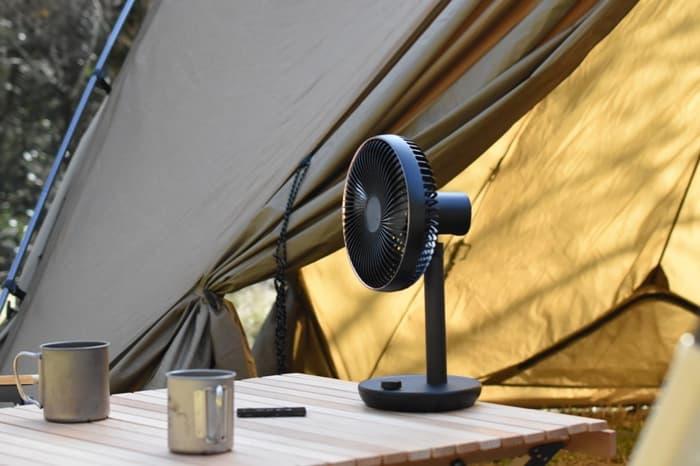 キャンプで使う扇風機の選び方