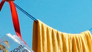 ダイソーの洗濯ロープ