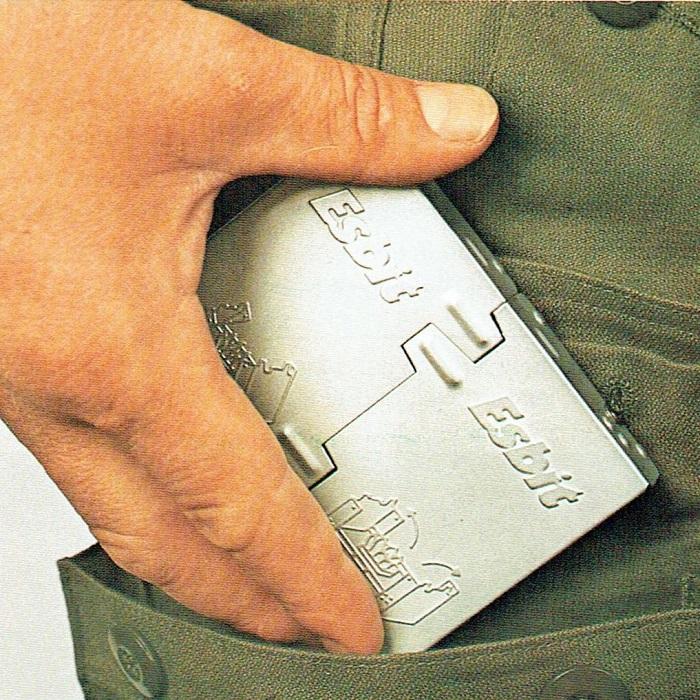 エスビットポケットストーブをポケットに入るコンパクトさ