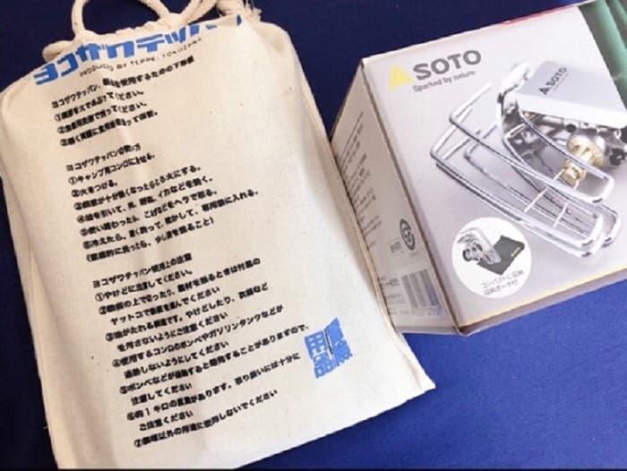ヨコザワテッパンとSOTOレギュレーターストーブ(ST-310)