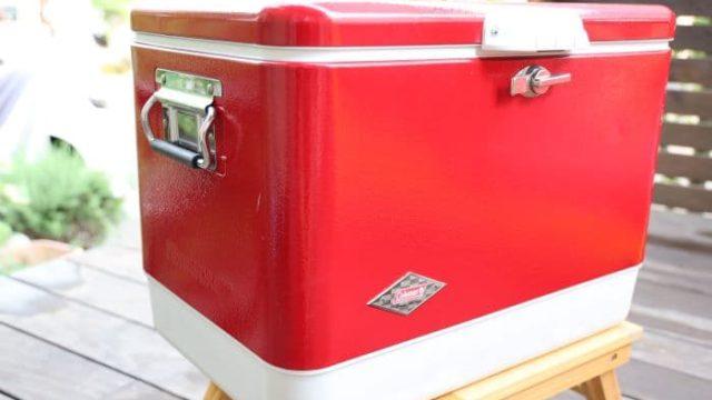 コールマン「スチールベルトクーラー」のサイズ感や保冷力を検証レビュー