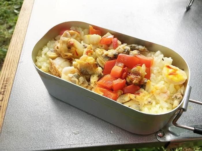 パエリア風炊き込みご飯の簡単レシピ