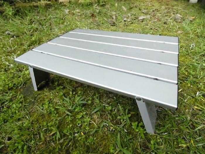 アルミローテーブルの組み立て方