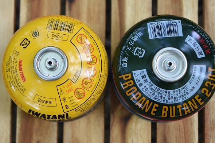 OD缶はメーカーごとに燃料の接続部分が微妙に異なる