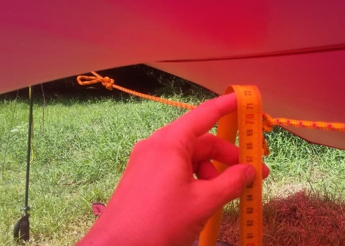ゼログラムの軽量タープ「ミニマリスト ナノ2タープ」の設営方法