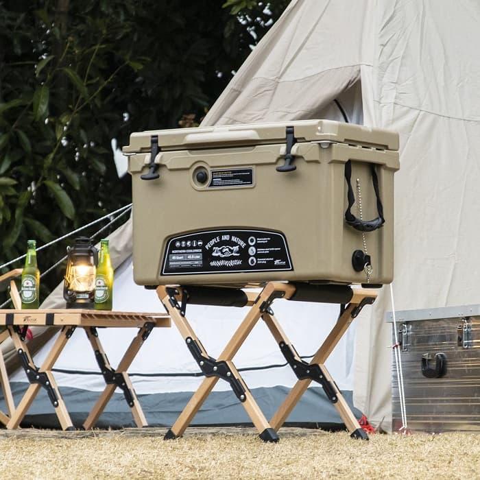 キャンプ用クーラーボックスのハードタイプの特徴