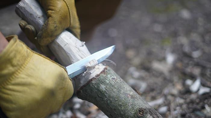 バトニング棒の作り方(自作)