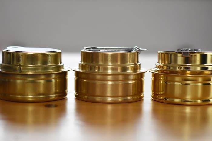 真鍮のアルコールストーブの特徴