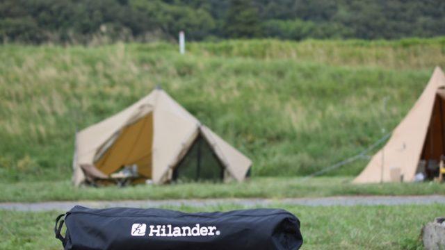 「安い・軽い・コスパ最強」ハイランダーのキャンプコットのレビュー!組み立て方も紹介!