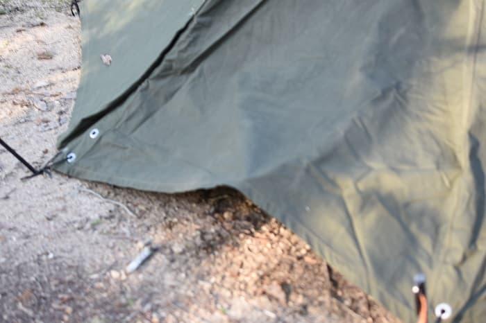 Hilander(ハイランダー)のキャンプコット