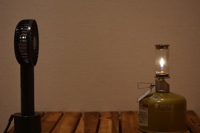 ノクターンは風で火が消える?風防が必要?