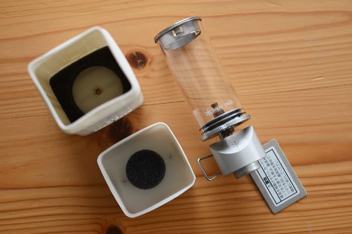 スノーピークのリトルランプ ノクターン(GL-140)