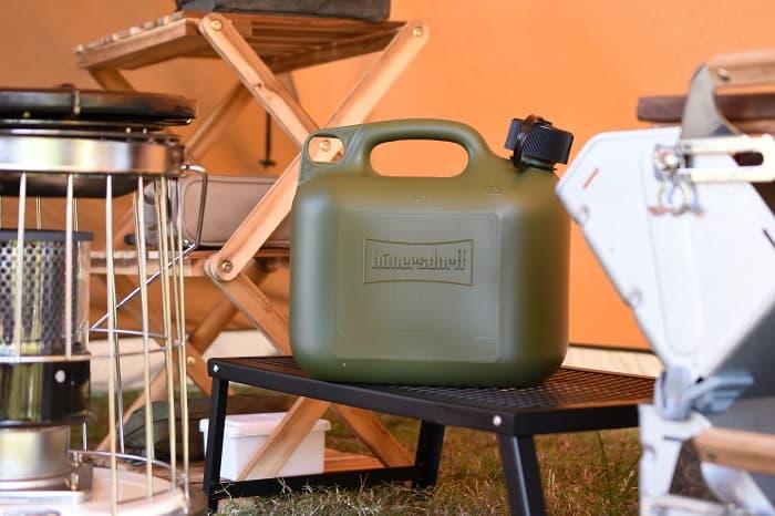 キャンプの灯油タンクの選び方