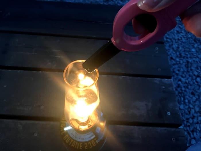 ルミエールランタンに火を灯す方法は?
