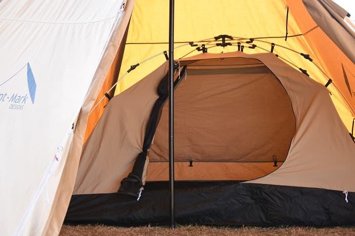 DODのカンガルーテントとサーカスTCでカンガルースタイル