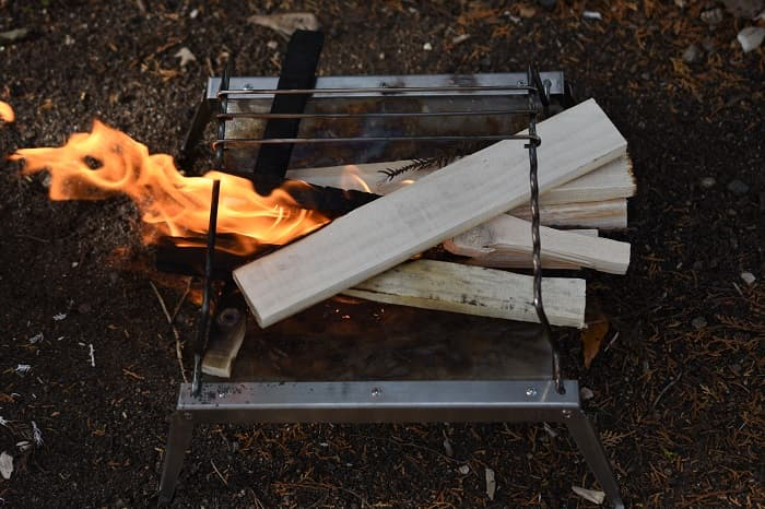 DOD焚き火台秘密のグリルちゃんの気になる点