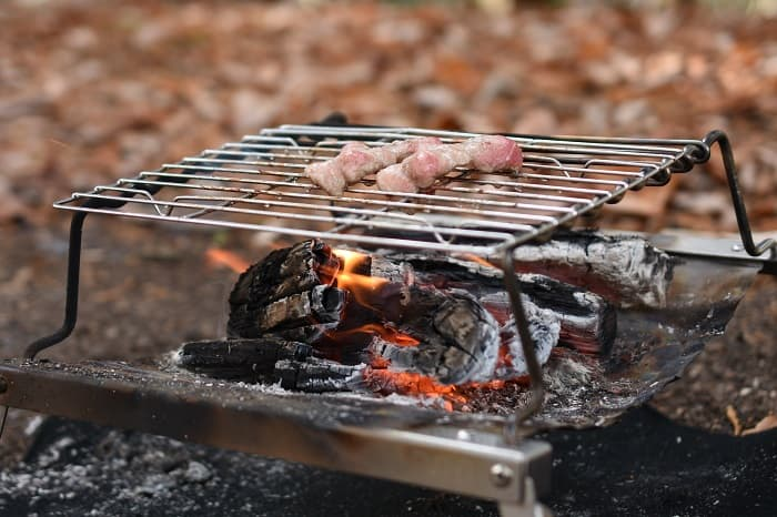 DOD焚き火台秘密のグリルちゃんの特徴