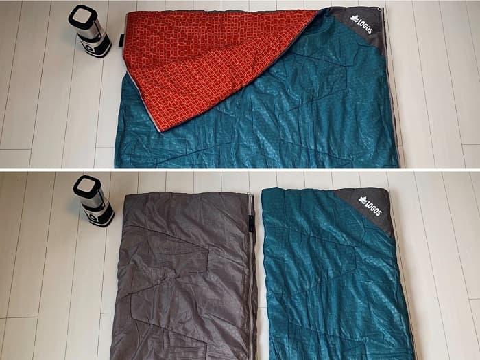 ロゴス(LOGOS)寝袋の魅力