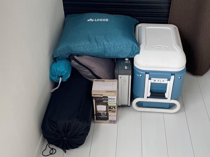 ロゴス「ミニバンぴったり寝袋・-2」は収納に困らない
