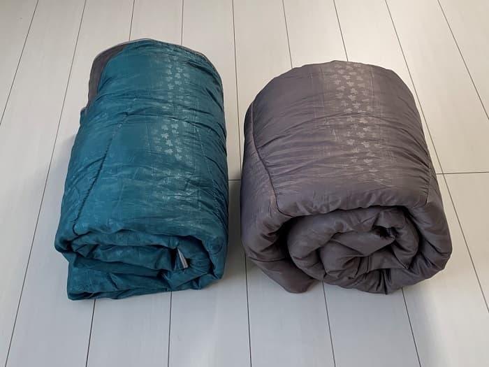 ロゴス「ミニバンぴったり寝袋・-2」は丸洗い洗濯できる