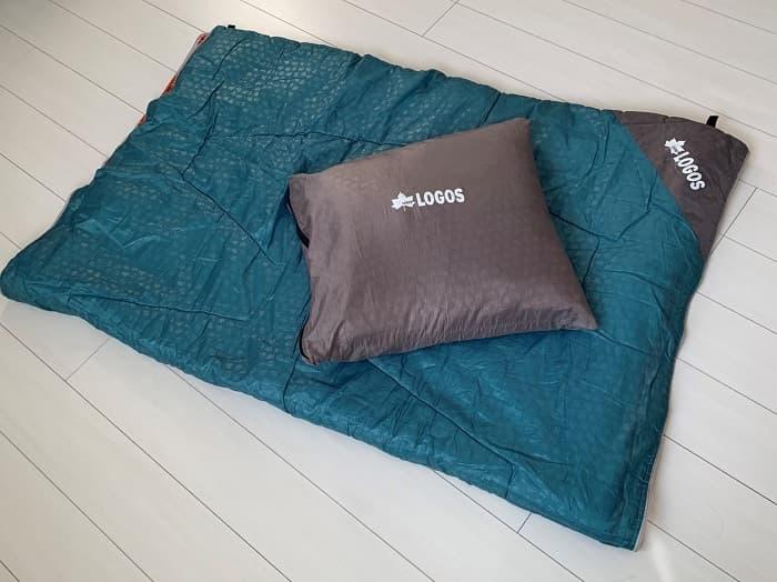 ロゴスの「ミニバンぴったり寝袋・-2」のレビュー【まとめ】