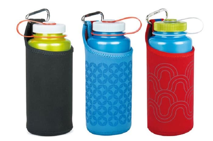 ナルゲンボトルを登山でより便利にするボトルカバー