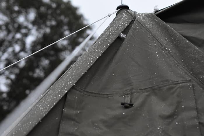 ソロベースEXを雨の日に使用