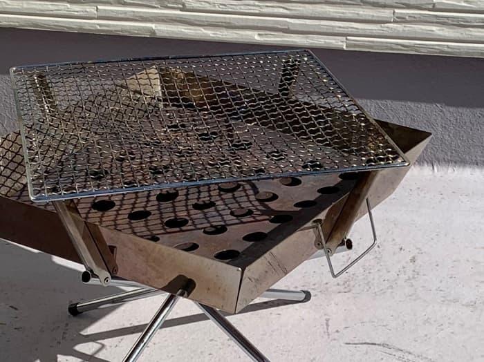 ユニフレーム焚き火台ファイヤグリルの焼網