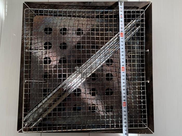 ユニフレーム焚き火台ファイヤグリルのサイズ