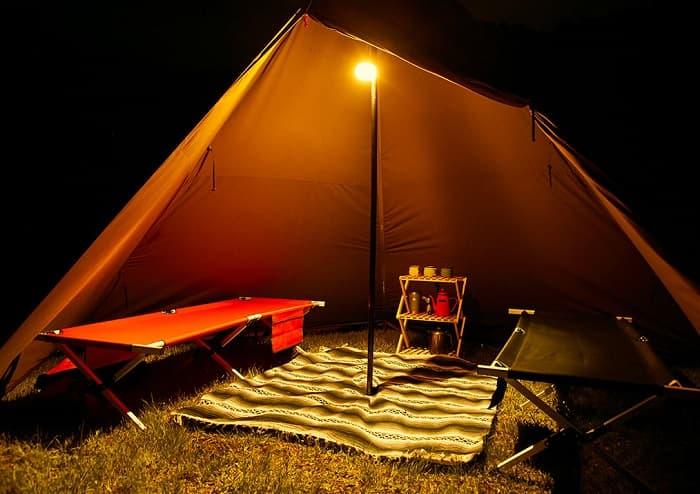 ワンポール(ティピー)テントのデメリット