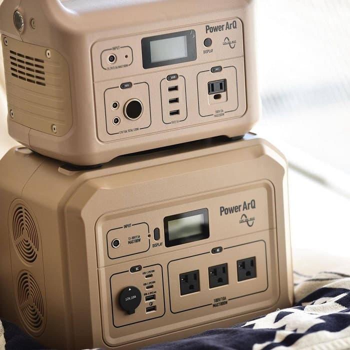キャンプ用で使うポータブル電源の必要な容量の目安