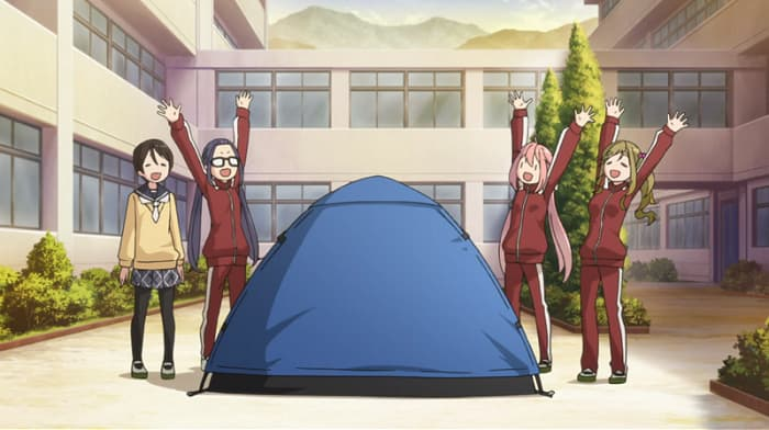 ゆるキャン△で野クルの通称980円テント
