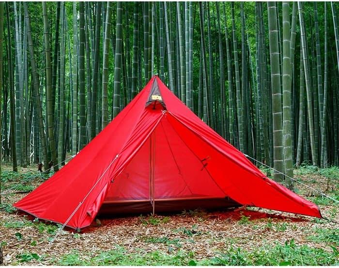 テンマクデザインpanda(パンダ)テント赤