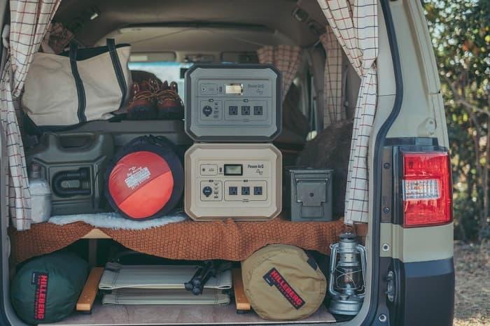 車中泊で使う日本製ポータブル電源
