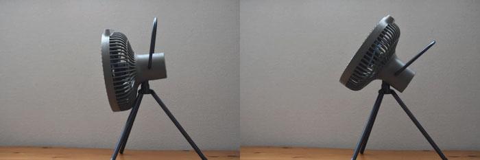 クレイモアFAN V600扇風機の三脚の使い方