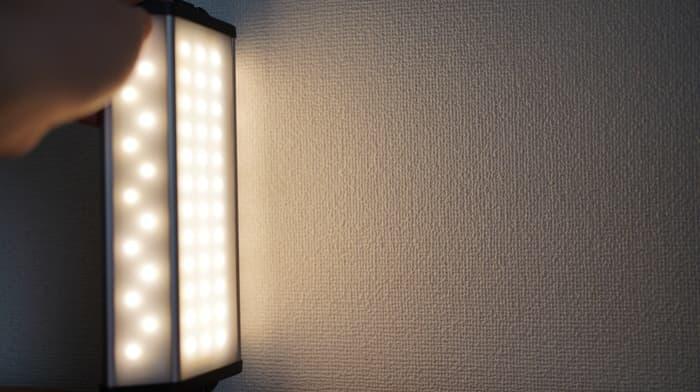 クレイモアランタン3FACE+の明かり