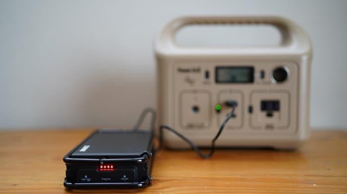 クレイモアランタンULTRA3.0(ウルトラ3.0)の充電