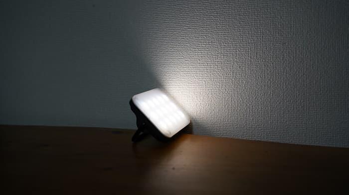 クレイモアランタンULTRA mini(ウルトラミニ)の明るさ